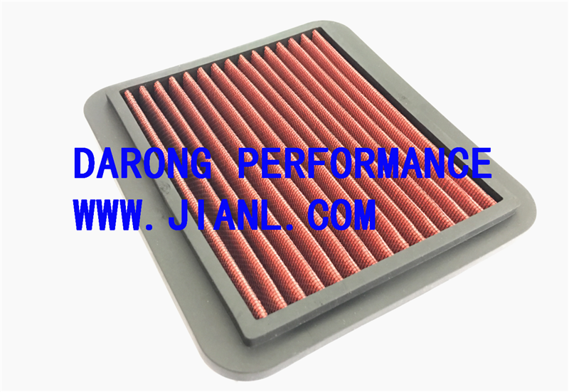 car parts factory racing car racing high performance panel air filter