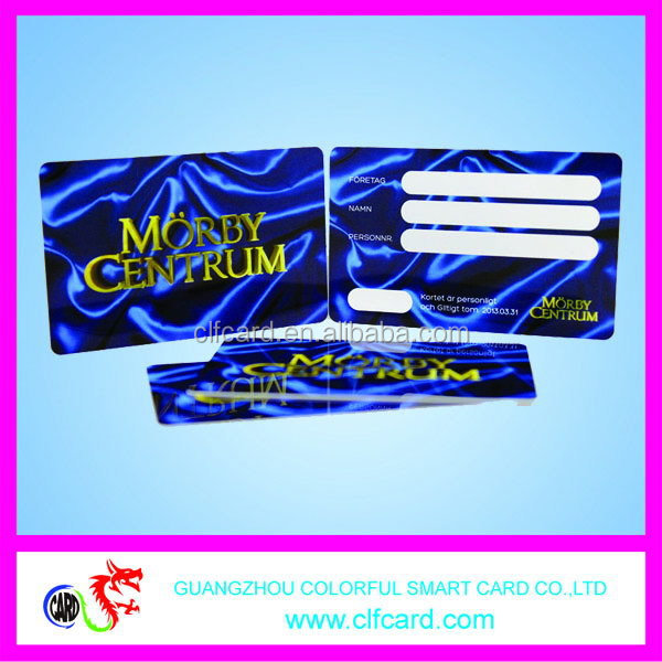 Popular best-selling clear pvc business card zf top quality