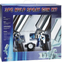 3PC HVLP paint spray gun kit