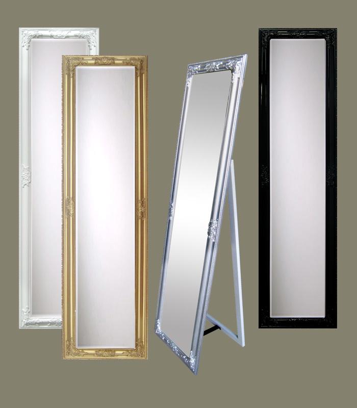 madera decorativa espejo de cuerpo entero espejos