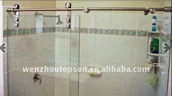Frameless Glass Sliding Shower Door Shower Partition Shower ...