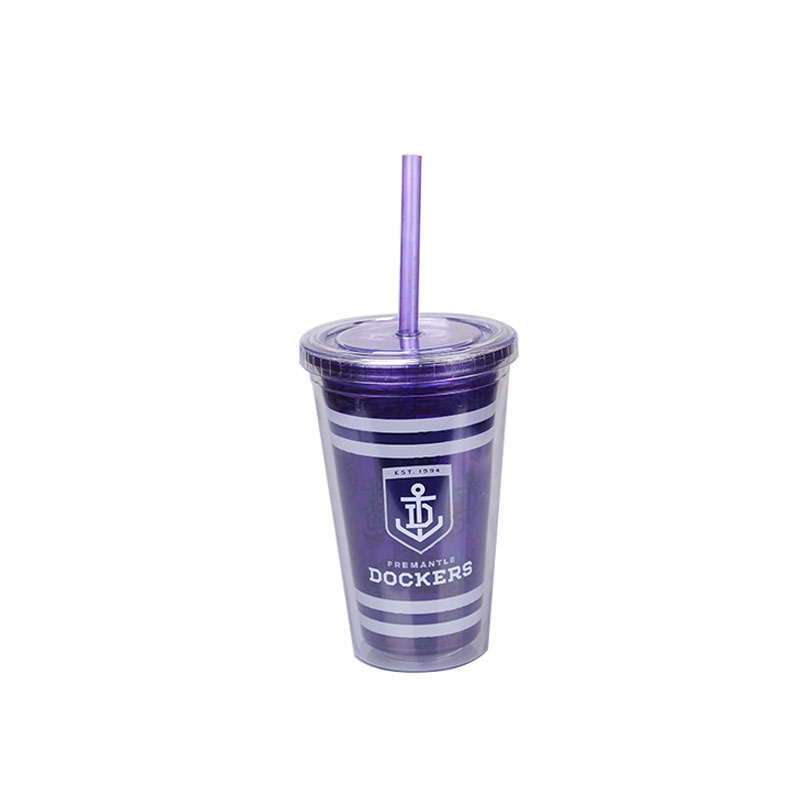 Cheap Simple Plastic Tumbler Cup With Straw