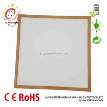 High Bright Wood Color Frame Led Ceiling Panel Light 40w - Buy 2x2 ...