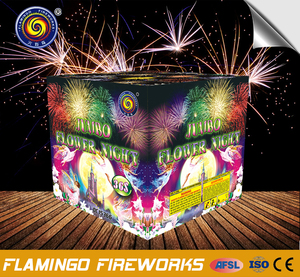 Qualitfied supplier 36S Jumbo Flower Night wedding sparklers cake fireworks