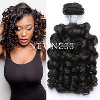 100 % raw human braiding hair,7A grade baby curl human hair,virgin human hair weave vendors