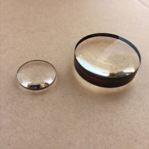 customized optical glass K9 45mm aspherical biconvex lens