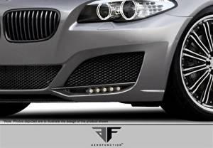 2011-2015 BMW 5 Series F10 4DR AF-3 Front Bumper Add Ons ( CFP ) - 2 Piece