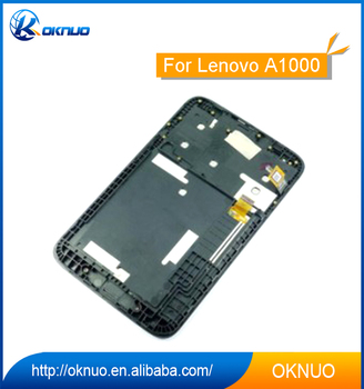 Touch Screen With Lcd For Lenovo A1000 Full Display Assembly Frame Black 7quot