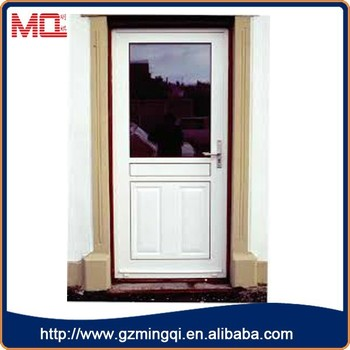 Cheap Entry Doorspvc Exterior Commercial Tempered Glass Doors For