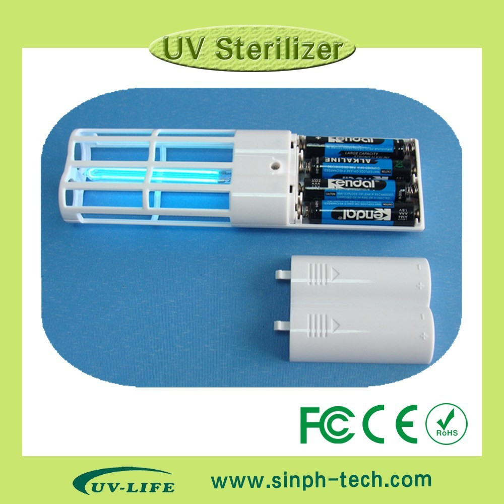 plastic portable uv lamp foot care shoe sterilizer