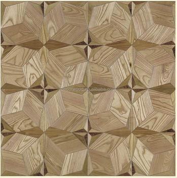 Heat Insulation Parquet Wood Flooring White Oak Parquet Laminate