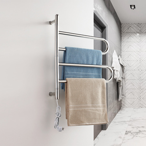New style hotel stainless steel folding towel rack