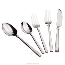 Factory Wholesale Fork spoon knife set cutlery hotel restaurant stainless steel cutlery