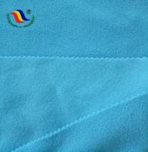 Blue Decoration Thick Heavy 100 Polyester Polar Fleece Fabric Wholesale For Lining