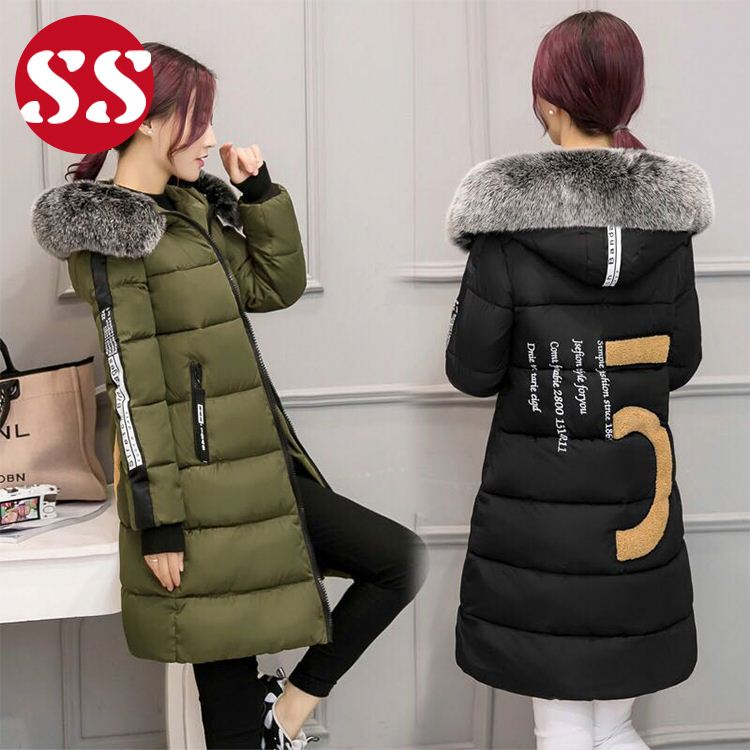 2018 winter hot products padded winter long girls parka coat