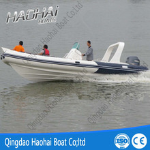 7.6m fiberglass speed long boat for sale