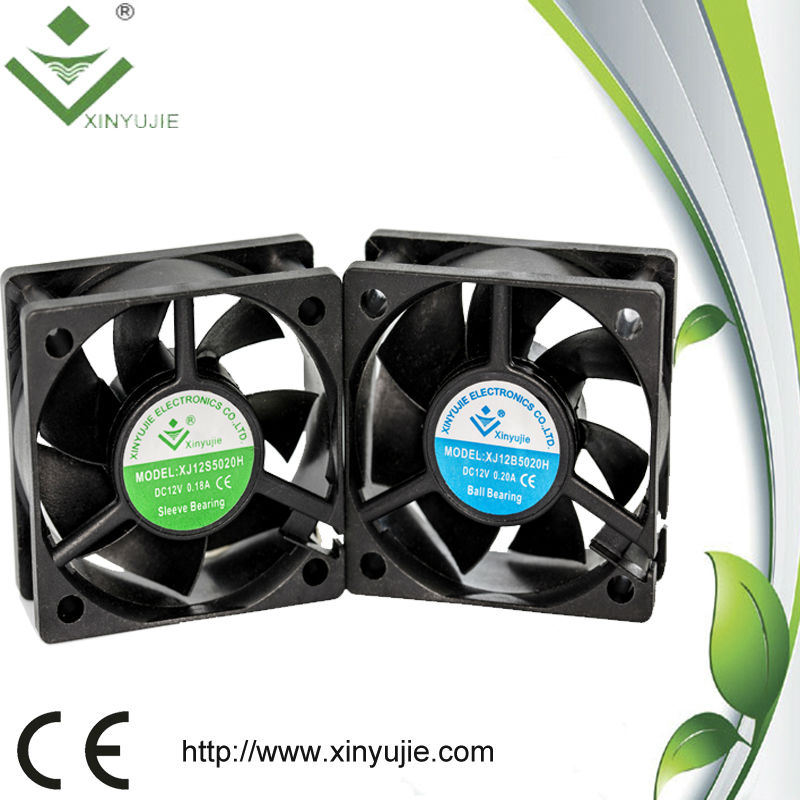 50X50X20MM Hard Disk Enclosure 12V CPU Cooler dc Fan 12V
