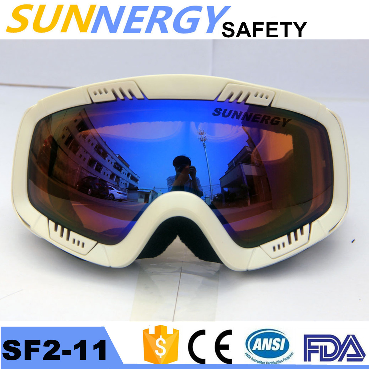 windproof racing snowboard Ski goggles