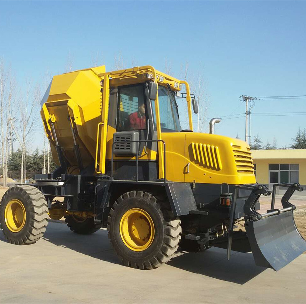 10.0ton Containerized Export Diesel Site Dumper use 4*4