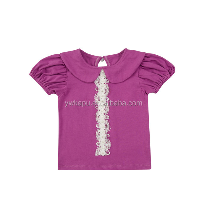 Wholeasale new design suit boutique baby T-shirt shorts, bow-knot headbow baby suspender shorts of baby clothing made in China