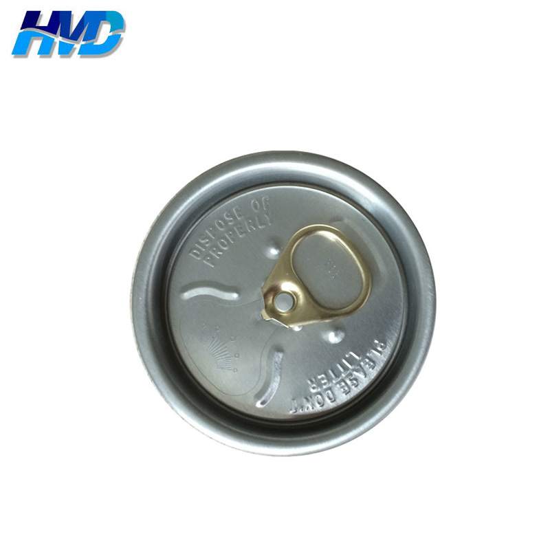 Aluminum easy open lid 200# EOE for beverage or drink