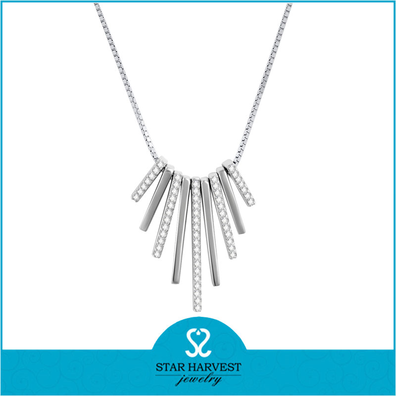 AAA CZ full neck covering necklace design