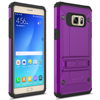 New 2 in 1 Cell Phone Combo kickstand Clips Armored TPU screw slim Case for samsung galaxy Note 7