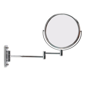 8 inch Magnify round silver beauty mirror wall for bath