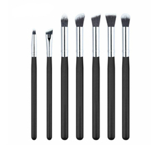 Factory supply Professional 7pcs Cosmetic Eye Shadow Makeup Brush Set