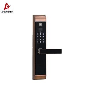 high safety electric z wave home/office door lock