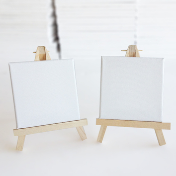 16*9CM Mini canvas and Easel tabletop display art alternatives free samples