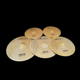 Arborea high grade mute cymbal set,brass color mute cymbal