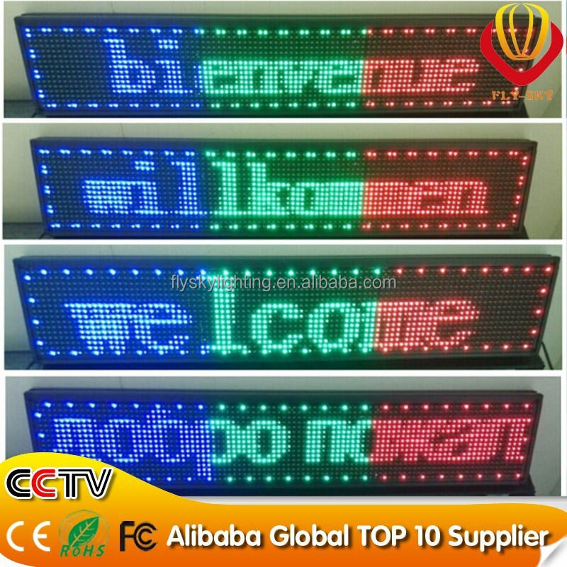 Indoor P10 Red Color Message/text Electronic Led Programmable Sign Display  Board Scrolling/running - Buy Led Programmable Sign Display,Led Moving