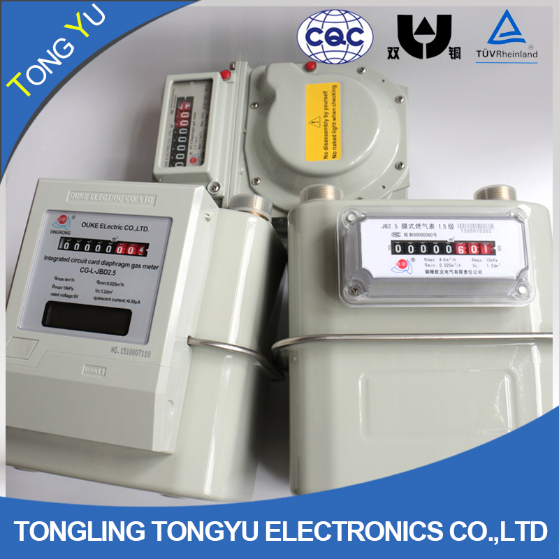 home diaphragm gas meter g1.6 / g2.5 / g4 / g6
