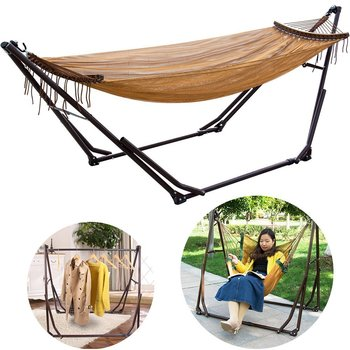 Heavy Duty Outdoor Swing Chair 3 In 1 Portable Camping Hammock