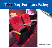 Good quality folding church seat theater chair church chair (YA-16)