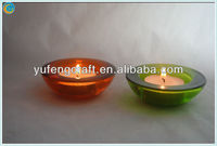 oil lamp wicks,tea light candle holder lantern,round red glass mosaic candle holder