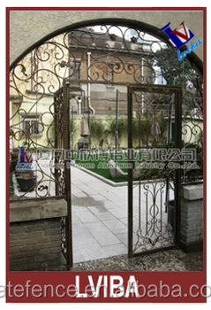Front Door Security Gate And Safety Gate Patio Doors U0026 Double Door Iron  Gates