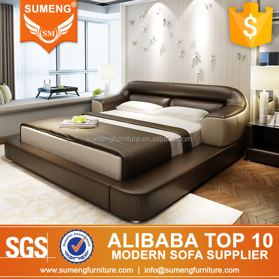 New Model Luxury Italy Style Bedroom Furniture Bed Product On Alibaba