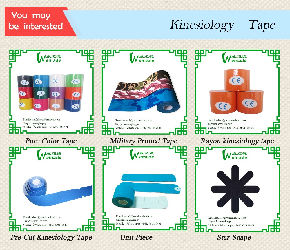 China Kinesiology Tape Suppliers For Amazon Platform