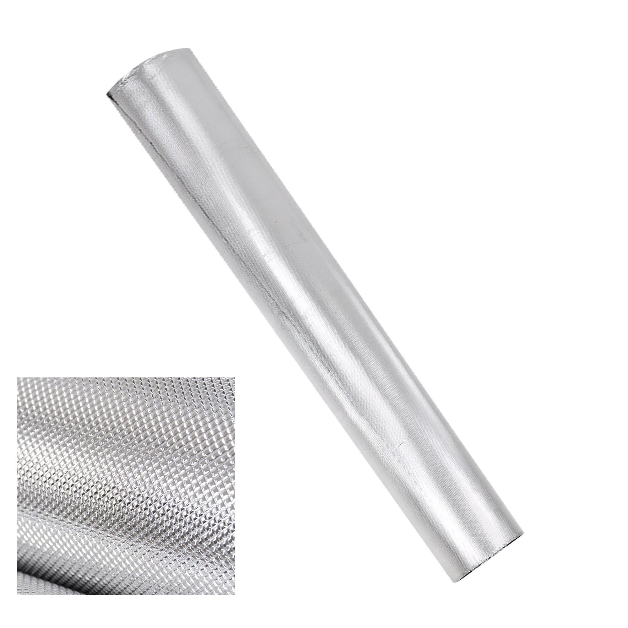 5x100ft Diamond Foil Silver Reflective Mylar Grow Room Film 210D Oxford Cloth