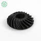Precision machining plastic nylon parts micro bevel gears prices