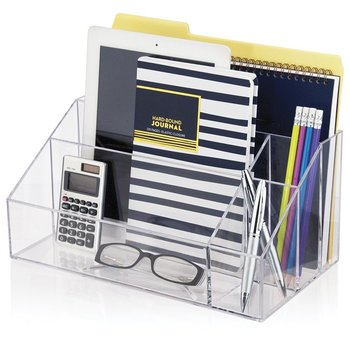 Great Clear Acrylic Office Desk Accessories File Box Organizer Factor Wholesale