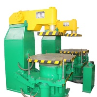 clay sand casting jolt squeeze molding machine / green sand molding line