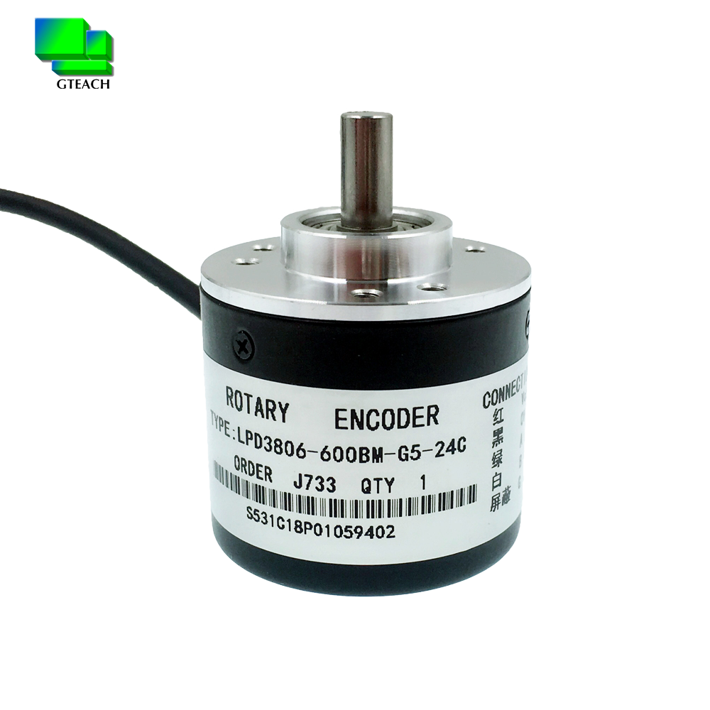 New and original Incremental <strong>rotary</strong> <strong>encoder</strong> LPD3806-600BM-G5-24C AB Two Phase 600ppr diameter 38mm shaft 6mm