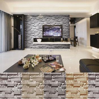 Wallpaper Brick 3d Pvc Stone Design Wall Mural Buy