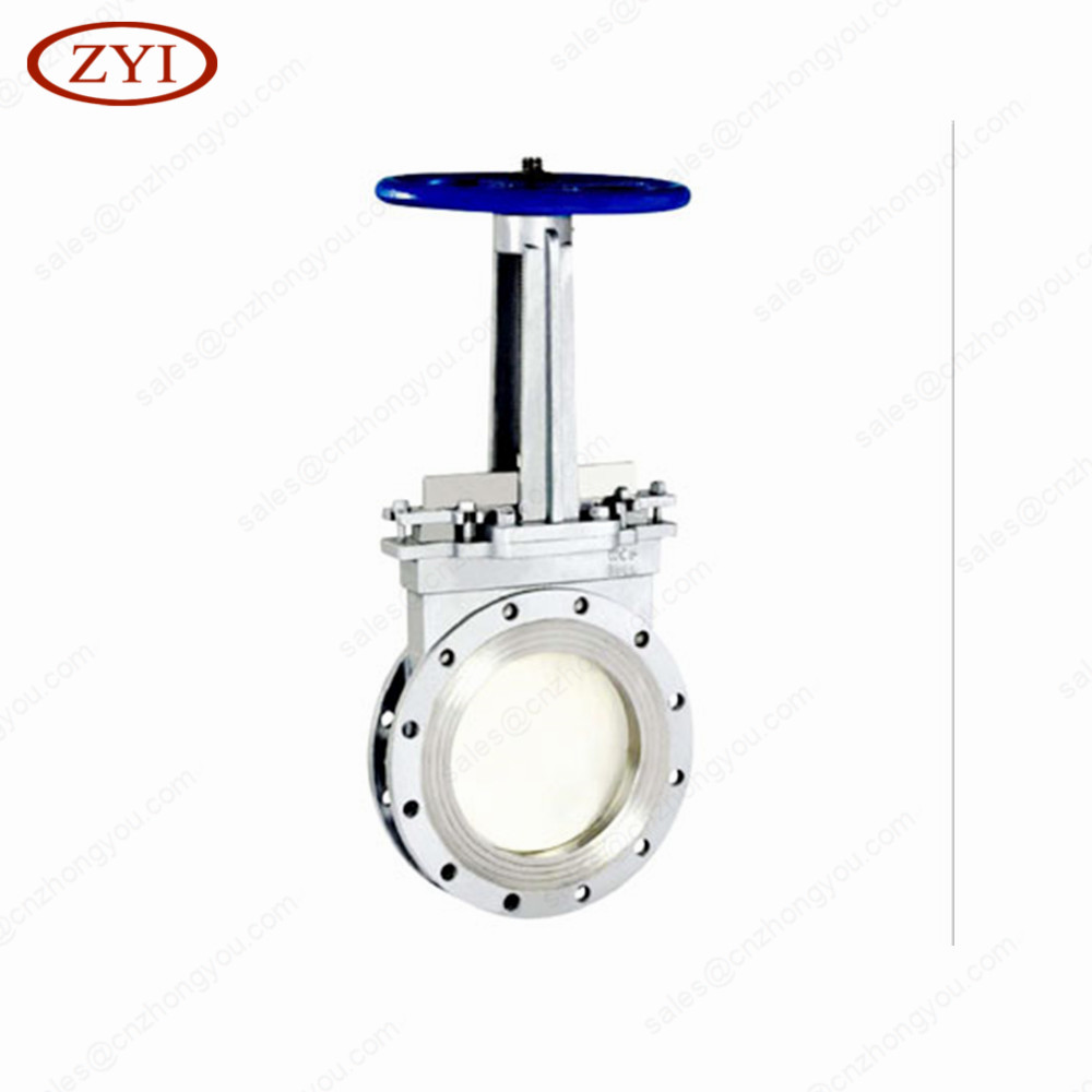Economic and Efficient roundness type knife gate valve manual