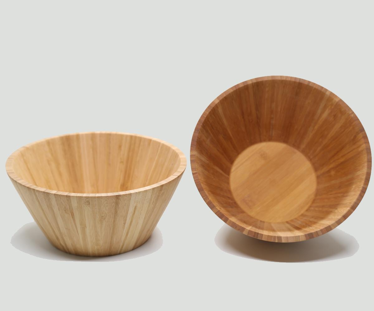 Acacia Wooden Antique Salad Fruits Bowls For Sale