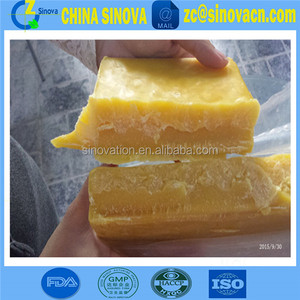 Quadruple filtering beeswax natural pure beeswax for wholesale