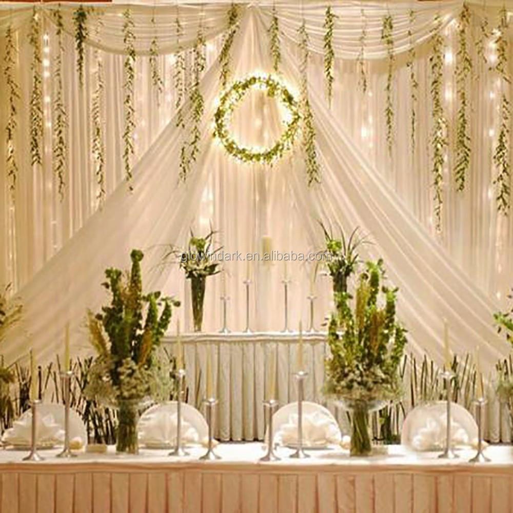 Cheap Decorative Led Curtain Light,Led Light Curtain Wall,Wedding ...